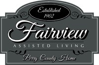 Outdoor Visiting At Fairview Assisted Living