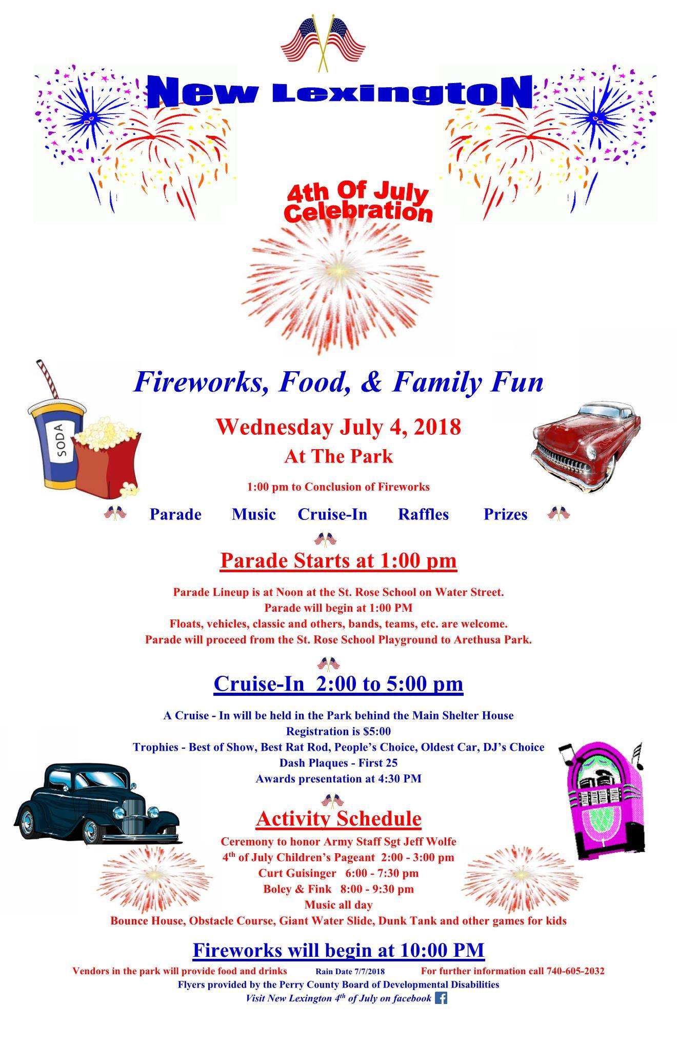 New Lexington Ohio July 4th Celebration — Perry County Ohio