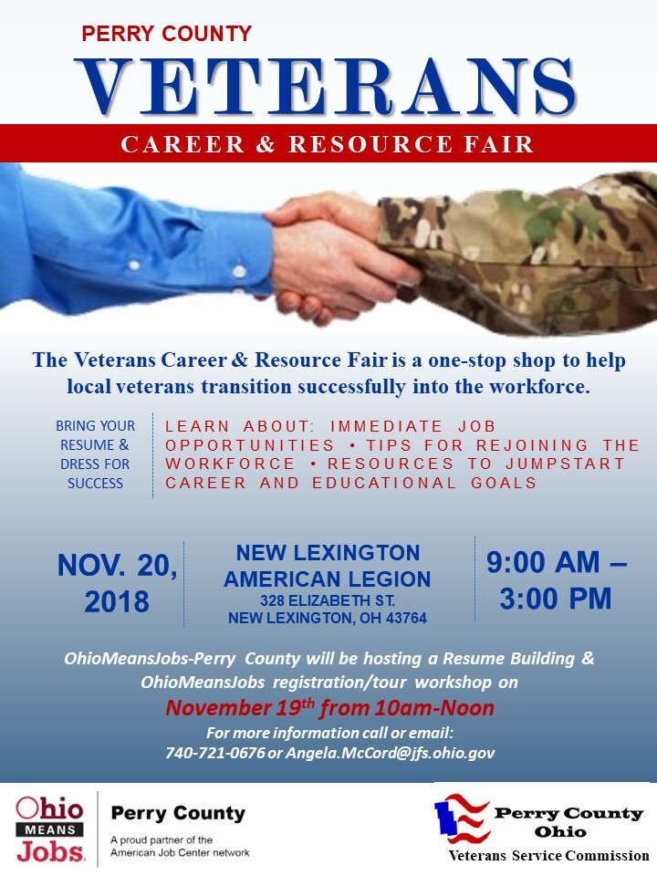 Perry County Veterans Career and Resource Fair — Perry