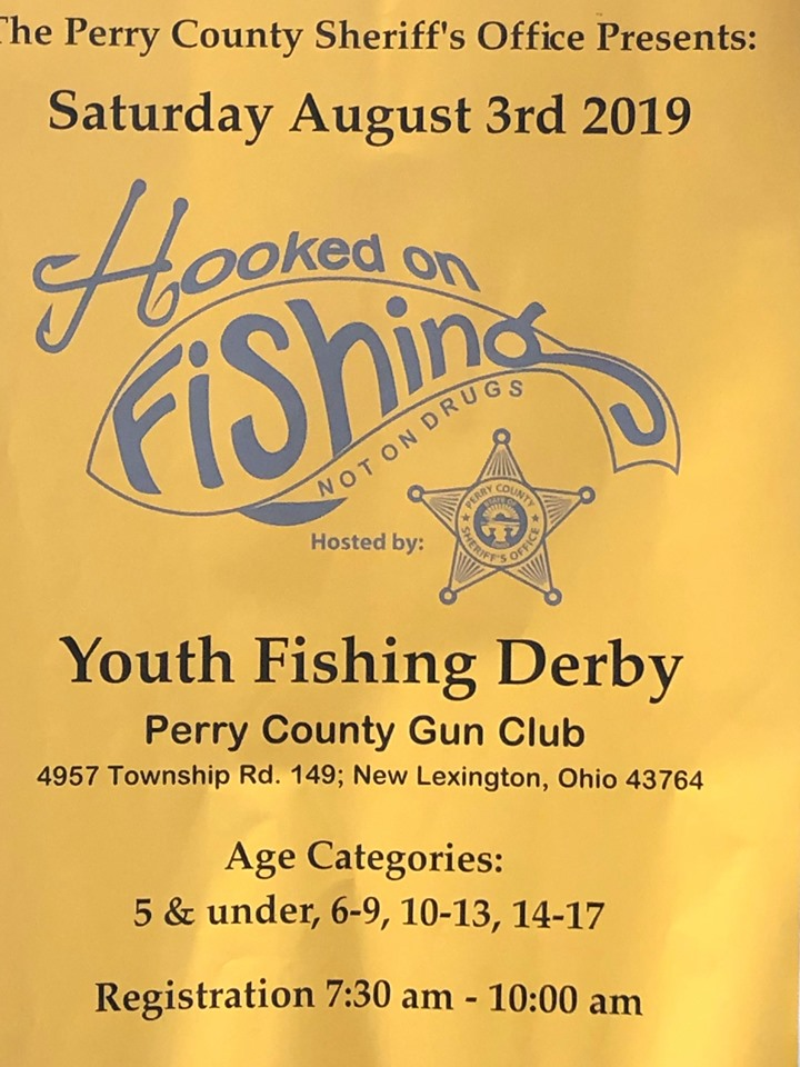 Hooked on Fishing Youth Fishing Derby — Perry County Ohio
