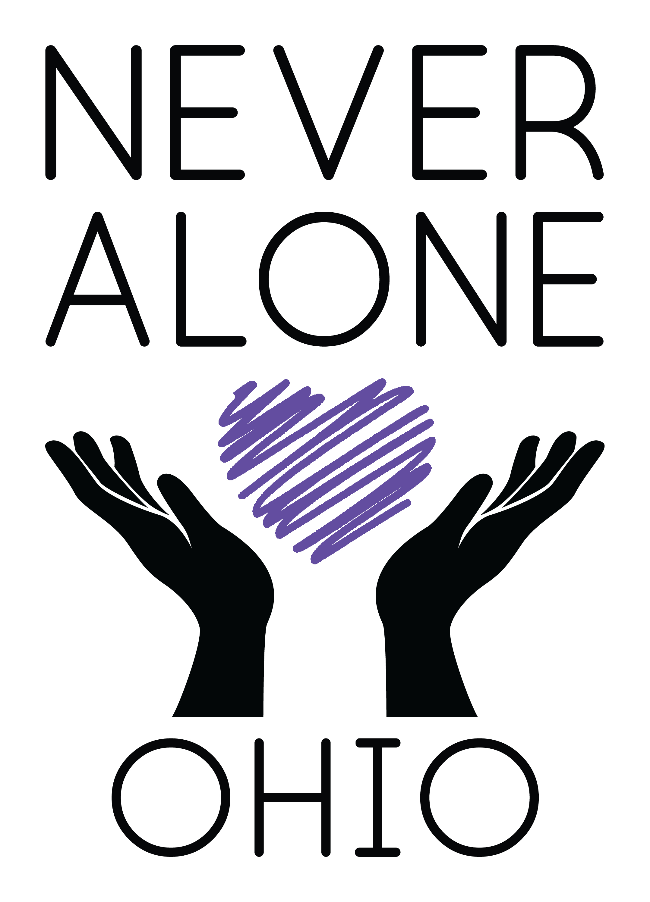 Never Alone Ohio Community Walk and Fundraiser   August 29, 2021