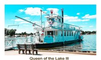 Queen of the Lake III will be cruising Buckeye Lake through October 30, 2021